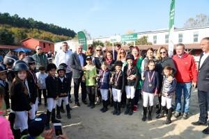 Binicilik Şampiyonası Ümraniye Belediyesi'nin Desteği ile Yapıldı