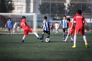 Minikler Ümraniye Belediyesi'nin Düzenlediği Futbol Turnuvası'nda Mücadele Etti