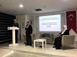 Ümraniye Kültür ve Sanat Merkezi'nde Şam Konuşuldu