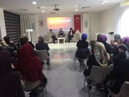 Ümraniye'de Kadına Şiddet Paneli Düzenlendi