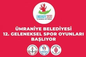 12. Geleneksel Ümraniye Spor Oyunları Başladı
