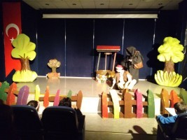 Ümraniyeli Çocuklar Hafta Sonu Bol Bol Tiyatro İzledi