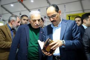 1.Ümraniye Kitap Fuarı Cumhurbaşkanı Sözcüsü Kalın'ın Katıldığı Programla Sona Erdi