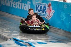 Ümraniye 1. Kar Festivali Başladı