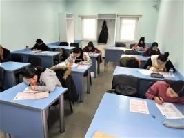 Ortaokul Ders Takviye Kursları'na Katılan Öğrencilere Deneme Sınavı