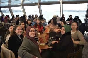 Üniversite Hazırlık Kursu Öğrencilerine Boğaz Turu