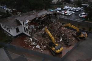 Ümraniye Kaymakamlık Binası Yıkıldı