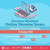 Ümraniye Belediyesi'nden Online Seviye Tespit Sınavı
