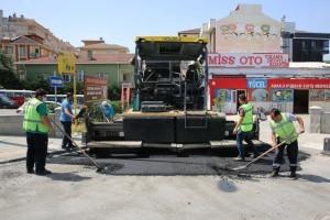 Ümraniye'de Asfalt Çalışmaları Hız Kazandı