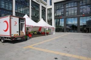 Ümraniye Belediyesi Personelinden Kan Bağışı