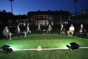 Başkan Yıldırım Kulüp Başkanlarını Ağırladı