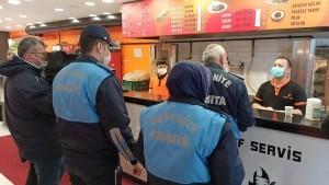 ÜMRANİYE'DEKİ KAFE VE RESTORANLARA SIKI DENETİM