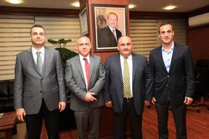 Ant Yapı'dan Başkan Hasan Can'a Teşekkür Ziyareti