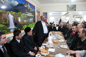 Başkan Hasan Can'dan Çaylı Simitli Sohbet