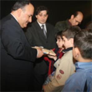 Öğrencilerden Başkan CAN'a Süpriz Ziyaret