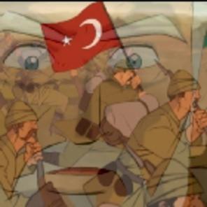 """Çanakkale Savaşının """"çizgi""""si yapıldı"""