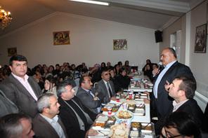 Başkan Hasan Can Alevi Vatandaşlarla Muharrem İftarında Buluştu