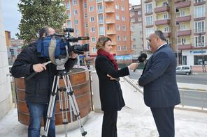 Başkan Hasan Can, Ümraniye'deki Kentsel Dönüşümü NTV'ye Anlattı