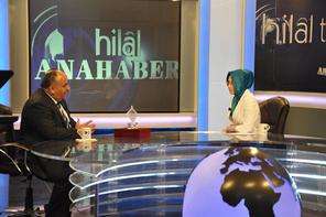 Başkan Hasan Can, Hilal TV'de Ulaşılabirlilik Kalite Teşvik Ödülünü Değerlendirdi