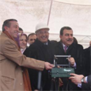 A. Ağaoğlu Çok Programlı Lisesi'nin temeli atıldı