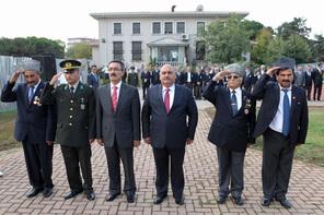 19 Eylül Gaziler Günü İçin Resmi Tören Yapıldı