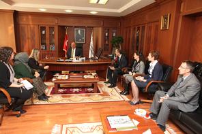 Fojnica Belediyesi Ümraniye Kültür Merkezi'nden Başkan Hasan Can'a Ziyaret