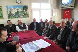 Başkan Hasan Can'dan Kıraathane Ziyareti