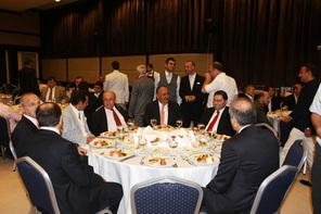 Ümraniye Eski Kaymakamı Mehmet Ali Yıldırım'a Veda Yemeği
