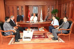 Bosna Sancak Derneği'nden Başkan Hasan Can'a Ziyaret