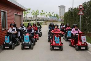 Kent Konseyi Çocuk Meclisi Trafik Çocuk Eğitim Parkında