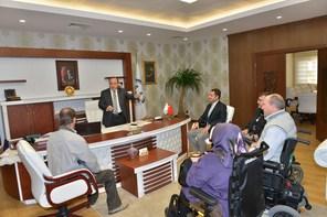 Kent Konseyi Engelli Meclisi nden Müftü Ercan Aksu ya Ziyaret