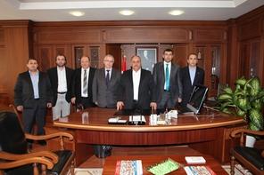 Ordulular Dernek Federasyonu'ndan Başkan Hasan Can'a Ziyaret