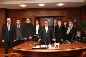 Bosnalı Heyetten Başkan Hasan Can'a Veda Ziyareti