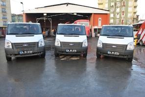 Ümraniye Belediyesi Araç Filosuna 4 Araç Daha Kattı