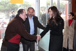 Milletvekili Özlem Türköne ve Başkan Hasan Can'dan Esnaf Ziyareti