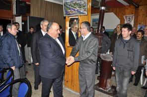 Başkan Hasan Can, Samsun Ladik Karaabdal Köyü Derneği'ni Ziyaret Etti