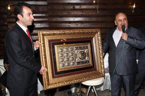 Memurlardan Başkan Hasan Can'a Teşekkür Gecesi