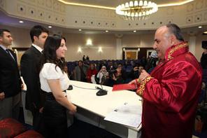 Başkan Hasan Can 11.11.2011'de Nikâh Kıydı