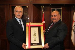 İstanbul Valisi Hüseyin Avni Mutlu'dan Başkan Hasan Can'a Ziyaret