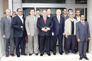 Yemenli Velilerden Başkan Can'a Ziyaret
