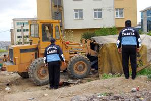Ümraniye Zabıtasından Konar-Göçer Vatandaşlara Toplu Çalışma Yapıldı