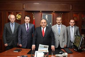 Zabıta Vakfından Başkan Can'a Ziyaret