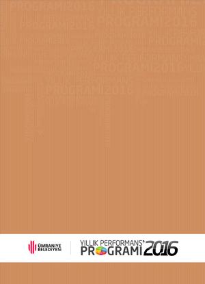 2016 Mali Yılı Performans Programı