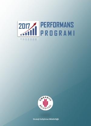 2017 Mali Yılı Performans Programı